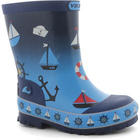 Viking Footwear Seilas Botas Niños, navy/blue
